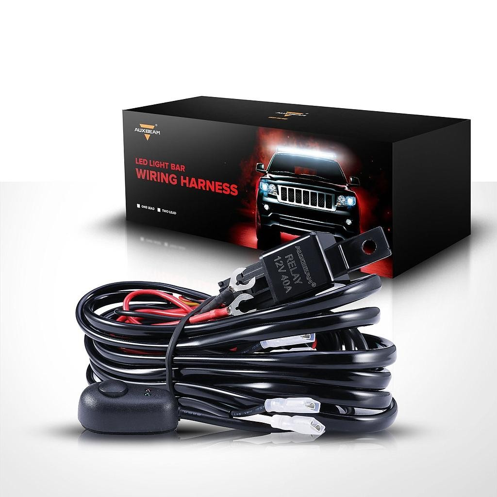 Spectrum Wiring Harness Kit Led Light Bar