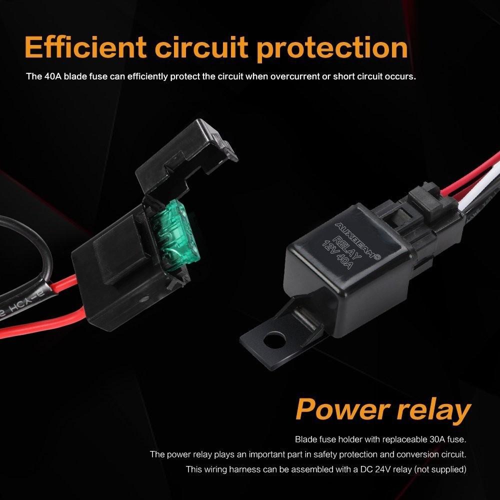 Spectrum Light Bar Wire Harness Led Wiring Kit